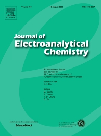 Cover image for Journal of Electroanalytical Chemistry