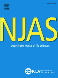 Cover image for NJAS Wageningen Journal of Life Sciences