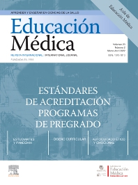 Cover image for Educación Médica