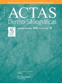 Cover image for Actas Dermo-Sifiliográficas (English Edition)