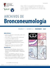 Cover image for Archivos de Bronconeumología (English Edition)