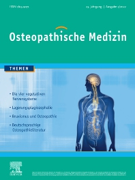 Cover image for Osteopathische Medizin