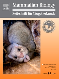 Cover image for Mammalian Biology