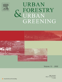Cover image for Urban Forestry & Urban Greening