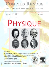 Cover image for Comptes Rendus Physique