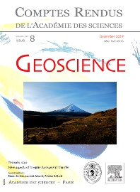 cover of Comptes Rendus: Geoscience