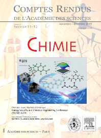 Cover image for Comptes Rendus: Chimie
