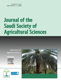 Cover image for Journal of the Saudi Society of Agricultural Sciences