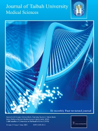 Cover image for Journal of Taibah University Medical Sciences