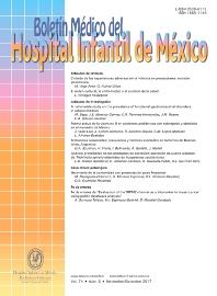 Cover image for Boletín Médico del Hospital Infantil de México