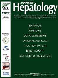 Cover image for Annals of Hepatology