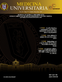 Cover image for Medicina Universitaria