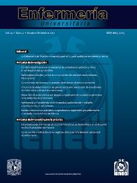 Cover image for Enfermería Universitaria