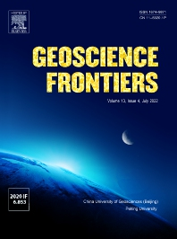 Cover image for Geoscience Frontiers