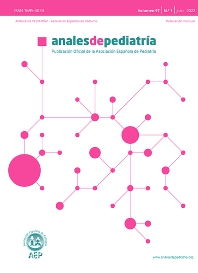 Anales de Pediatría - ISSN 1695-4033