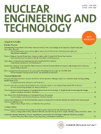 Cover image for Nuclear Engineering and Technology
