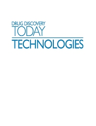 Cover image for Drug Discovery Today: Technologies