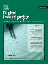 Cover image for Forensic Science International: Digital Investigation