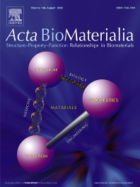 cover of Acta Biomaterialia