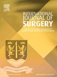 Cover image for International Journal of Surgery