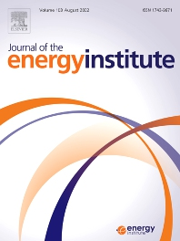 Cover image for Journal of the Energy Institute