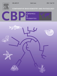 Cover image for Comparative Biochemistry and Physiology - Part D: Genomics and Proteomics