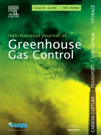 Cover image for International Journal of Greenhouse Gas Control