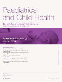 Cover image for Paediatrics and Child Health