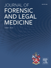 Cover image for Journal of Forensic and Legal Medicine