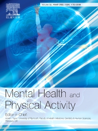 Cover image for Mental Health and Physical Activity