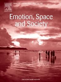 Emotion, Space and Society - ISSN 1755-4586