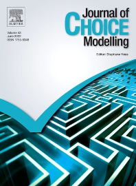 Cover image for Journal of Choice Modelling