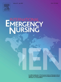 cover of International Emergency Nursing