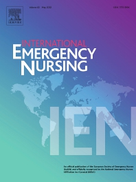 International Emergency Nursing - ISSN 1755-599X