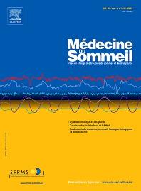 Cover image for Médecine du Sommeil