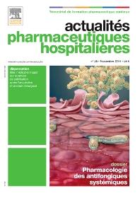 Cover image for Actualités Pharmaceutiques Hospitalières