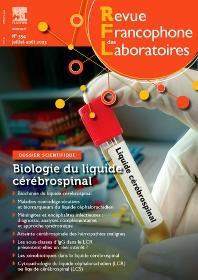 Cover image for Revue Francophone des Laboratoires