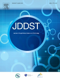 Cover image for Journal of Drug Delivery Science and Technology
