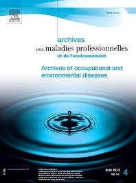 Cover image for Archives des Maladies Professionnelles et de l'Environnement