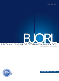 Cover image for Brazilian Journal of Otorhinolaryngology