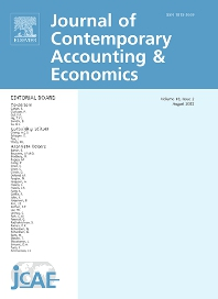 Cover image for Journal of Contemporary Accounting & Economics