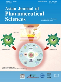 Cover image for Asian Journal of Pharmaceutical Sciences