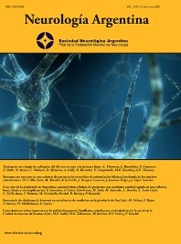 Cover image for Neurología Argentina