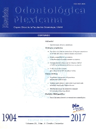 Cover image for Revista Odontológica Mexicana