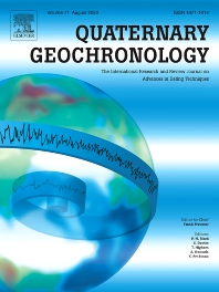 Cover image for Quaternary Geochronology
