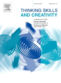 Cover image for Thinking Skills and Creativity