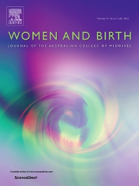 Resultado de imagen de women and birth revista