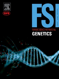 Cover image for Forensic Science International: Genetics