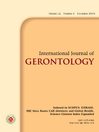 Cover image for International Journal of Gerontology