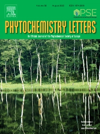 Cover image for Phytochemistry Letters